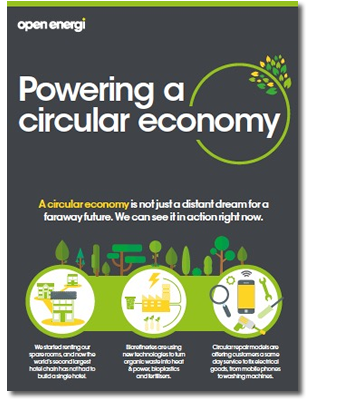 Powering a circular economy infographic